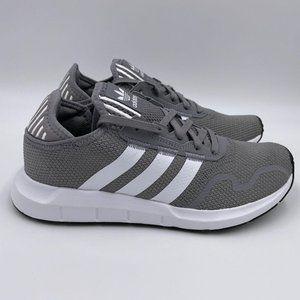 adidas Swift Run Grey / White Womens Shoes